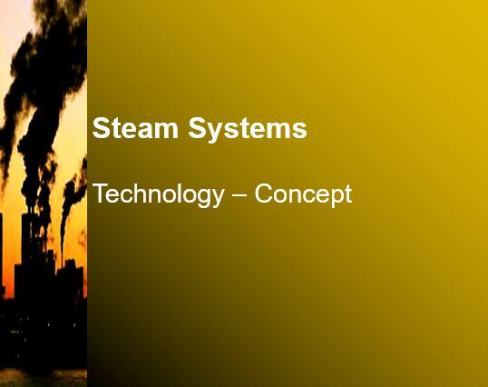 پاورپوینت انگلیسی با موضوع سیستم های بخار Steam Systems